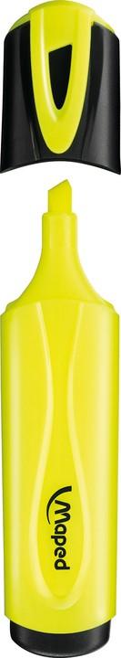 Maped Fluo Peps Classic - Surligneur - jaune fluorescent