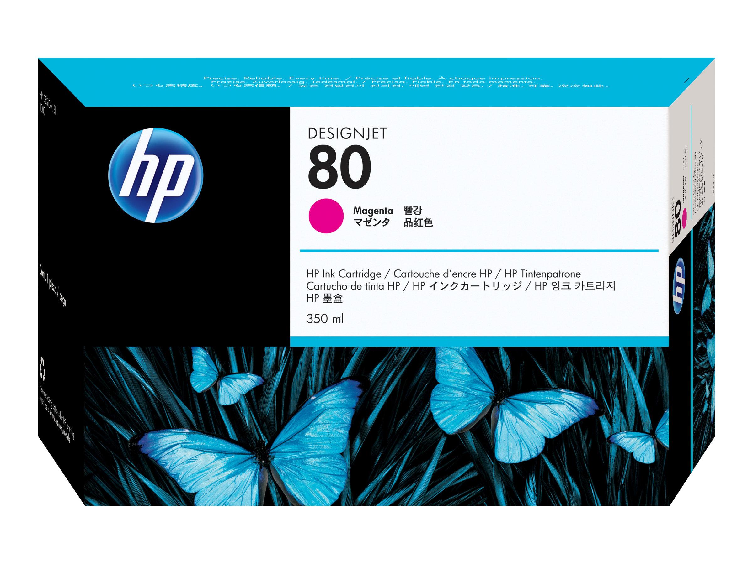 HP 80XL - magenta - cartouche d'encre originale