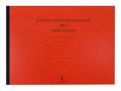 ELVE - Journal des dépenses et recettes pour associations - 27 x 37 cm