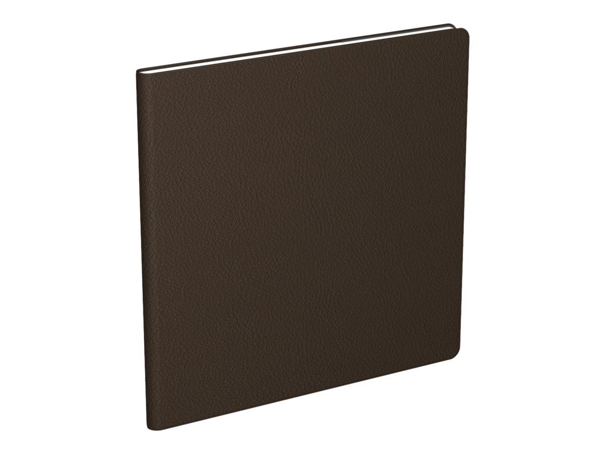 Lecas Classique - Agenda 1 semaine sur 2 pages - 16 x 16 cm - disponible dans différentes couleurs