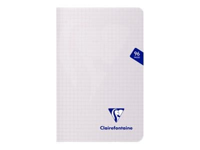Clairefontaine Mimesys - Carnet polypro 11 x 17 cm - 96 pages - petits carreaux (5x5 mm) - disponible dans différentes couleurs