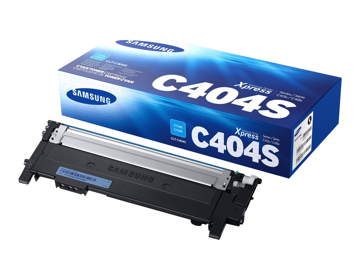 Samsung CLT-C404S - cyan - cartouche laser d'origine