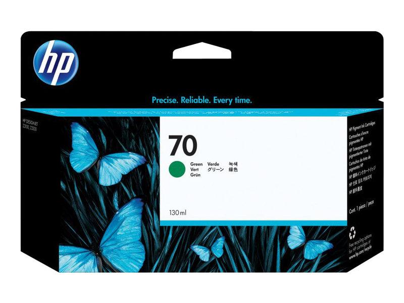 HP 70 - vert - cartouche d'encre originale