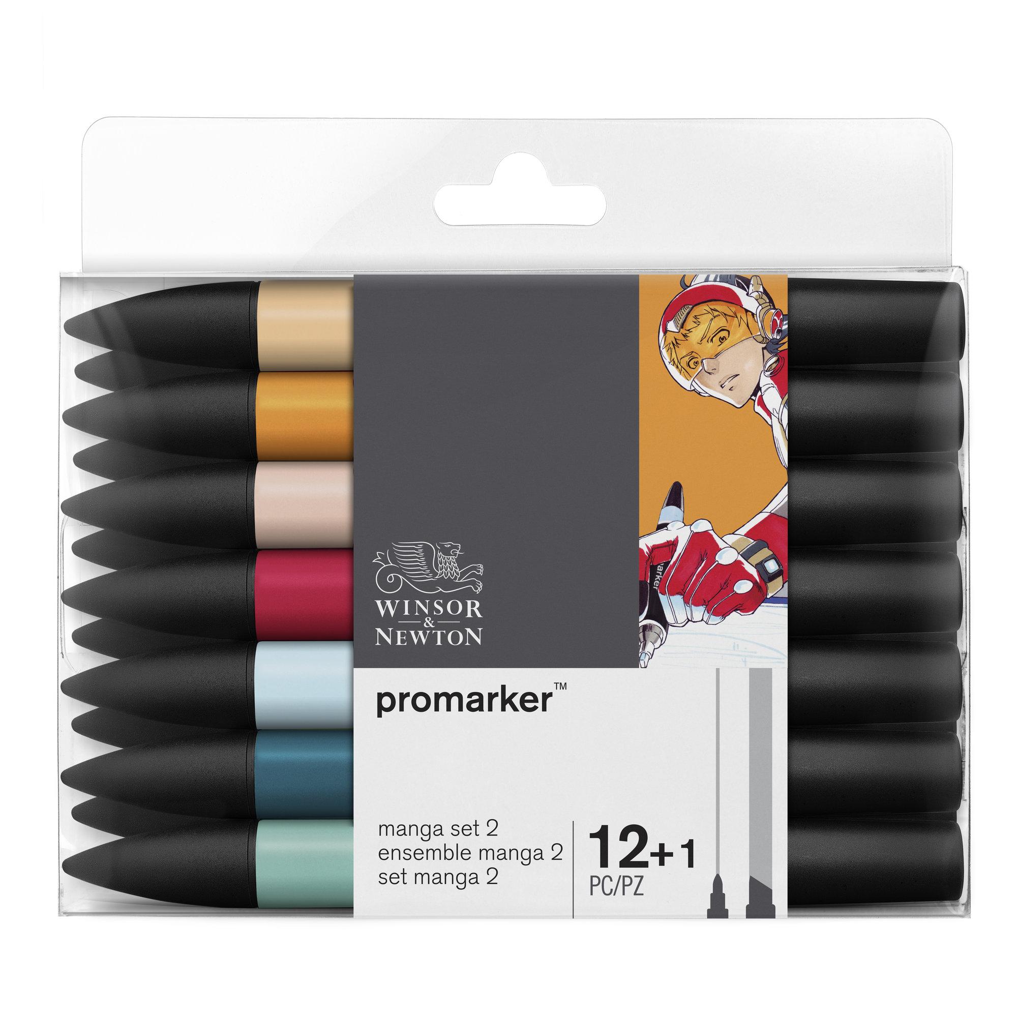 ProMarker - Pack de 13 - marqueurs double pointe - manga expansion pack 2