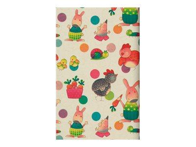 Clairefontaine - Papier cadeau kraft - 70 cm x 2 m - 60 g/m² - différents motifs disponibles