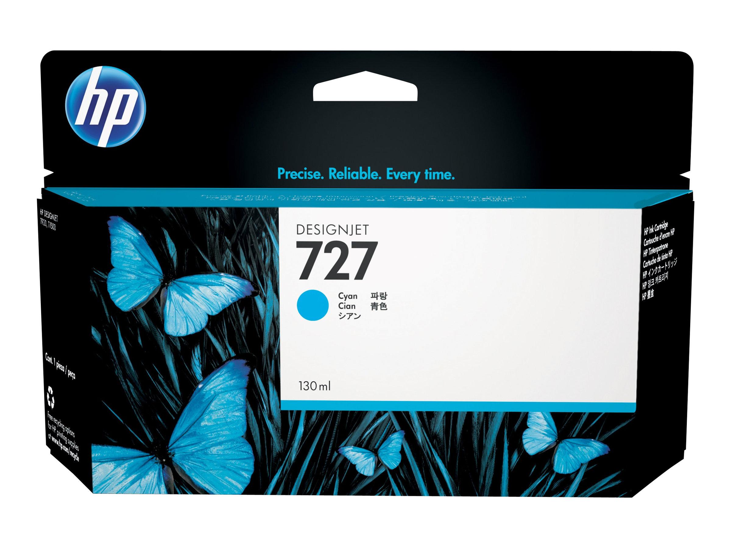 HP 727 - cyan - cartouche d'encre originale