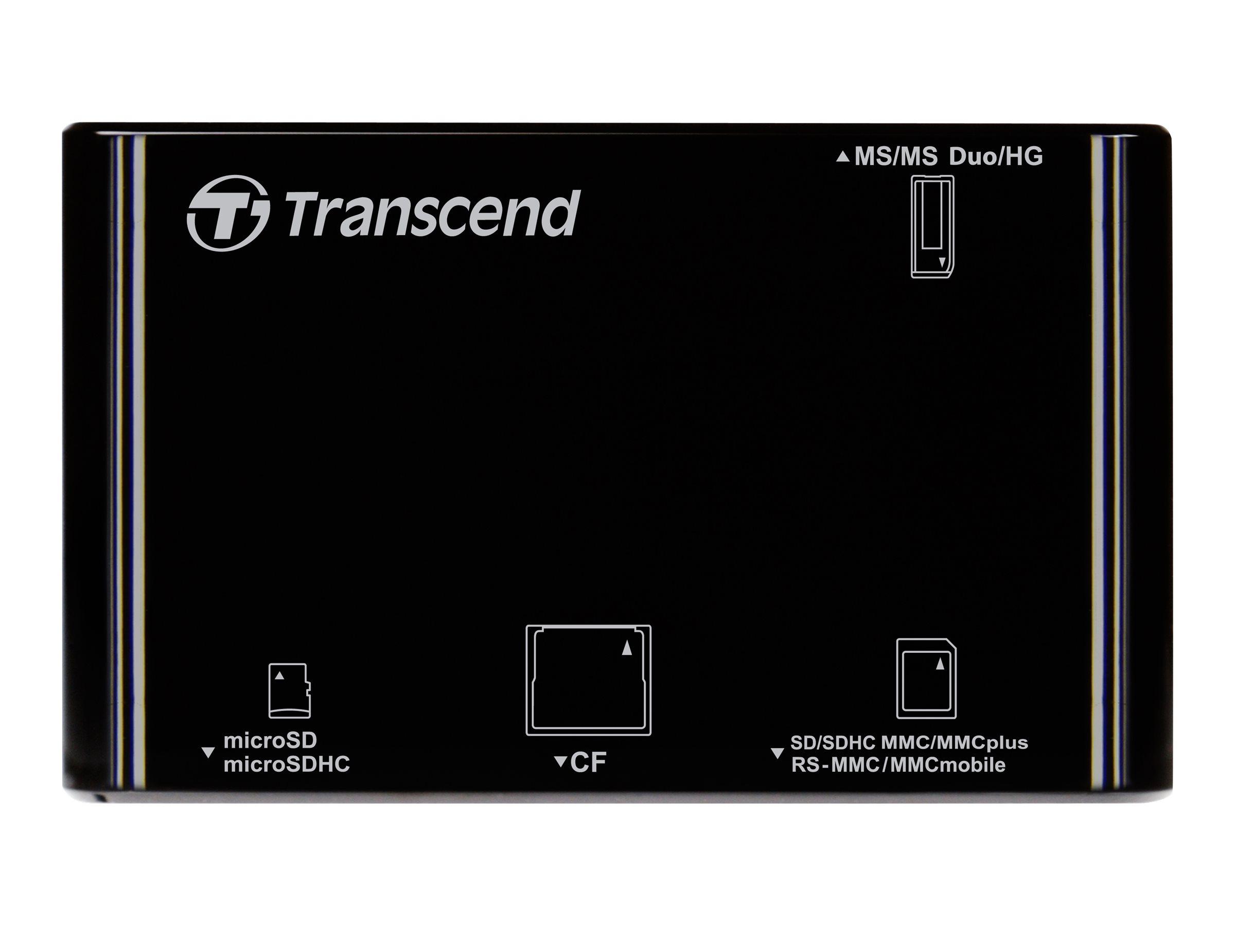 Transcend P8 - lecteur de carte - USB 2.0