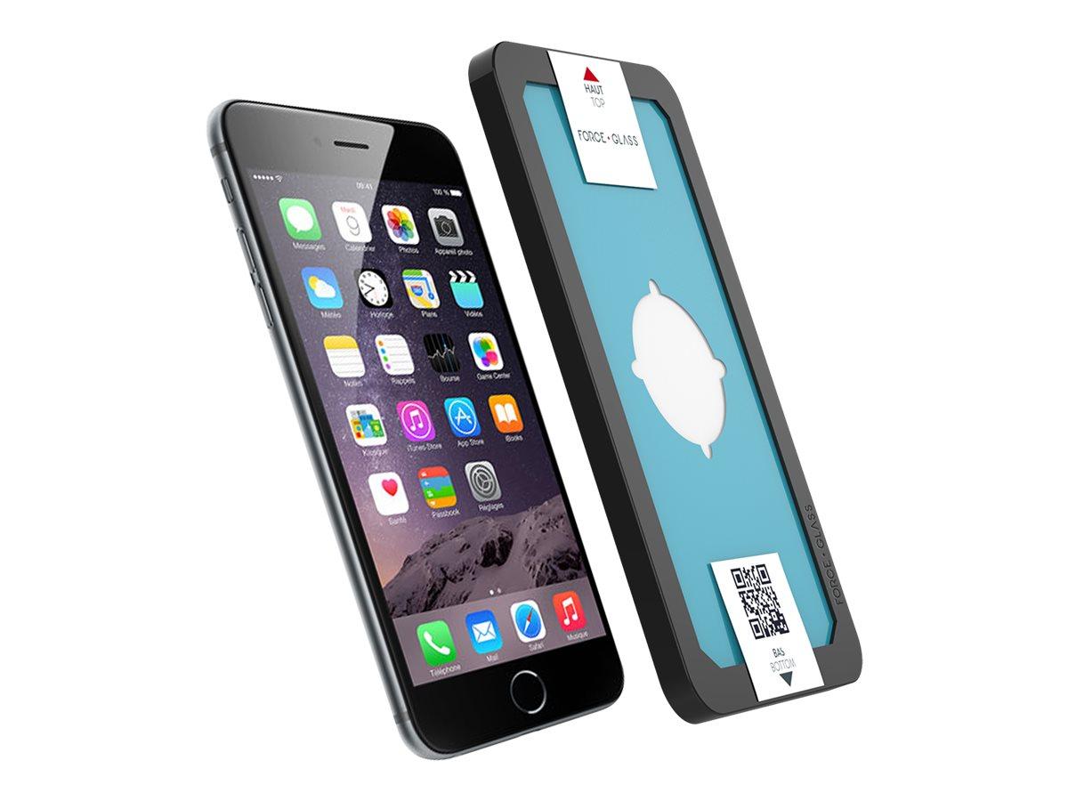 Force Glass - Protection d'écran - verre trempé pour iPhone 7+/8+