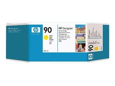 HP 90 - jaune - cartouche d'encre originale