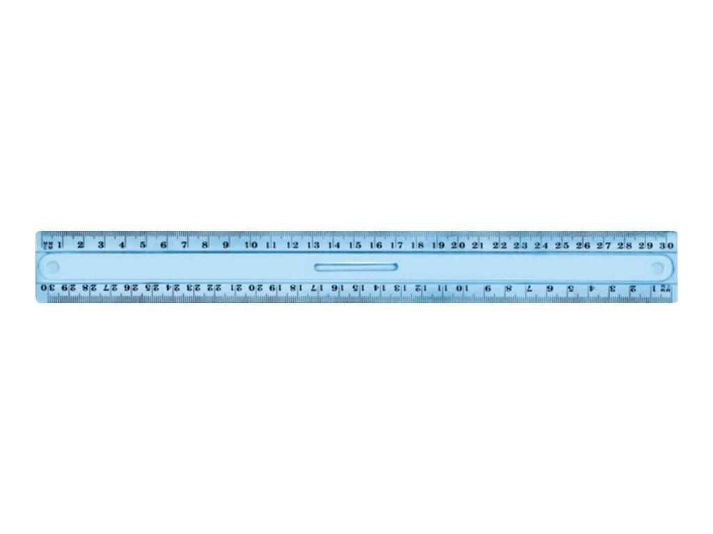 JPC  règle (double décimêtre)  20 cm  plastique incassable