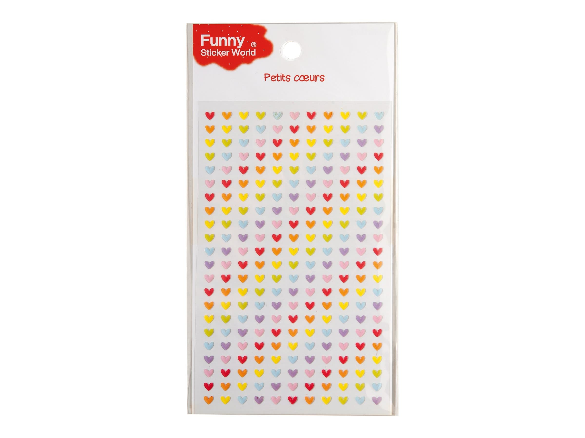 Oberthur Funny Sticker World - Stickers - petits coeurs