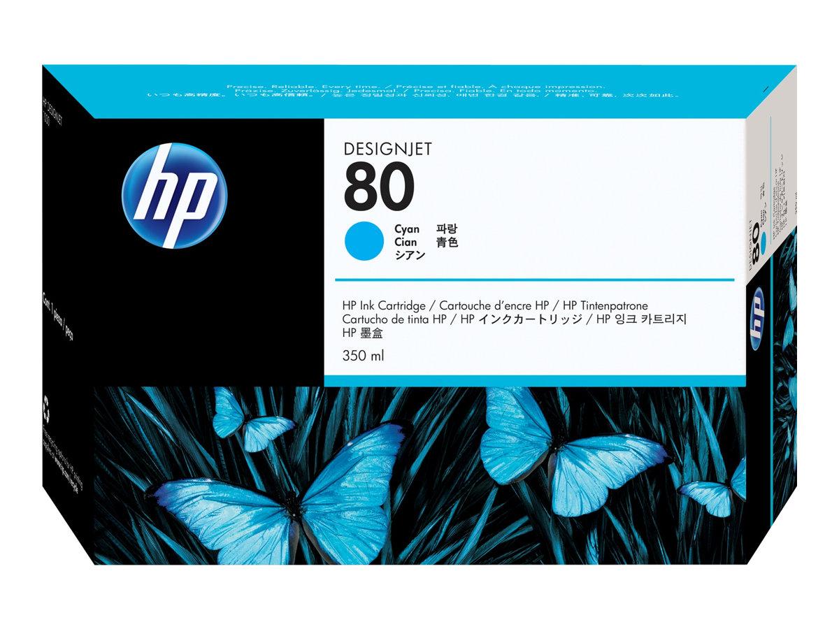 HP 80XL - cyan - cartouche d'encre originale