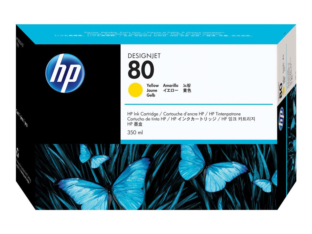 HP 80XL - jaune - cartouche d'encre originale