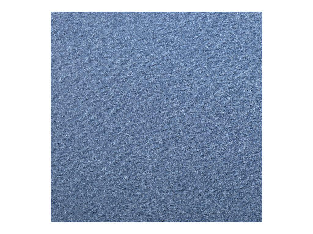Clairefontaine - Papier dessin couleur à grain - feuille 50 x 65 cm - bleu royal