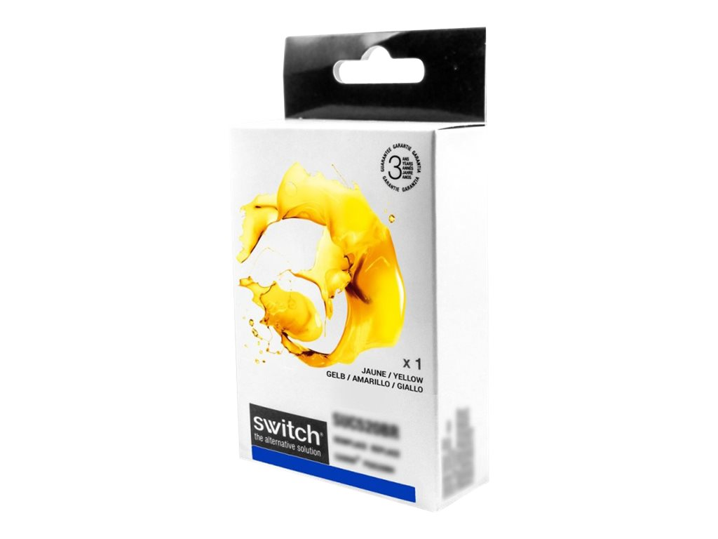 Epson T0484 Hippocampe - remanufacturé Switch - jaune - cartouche d'encre