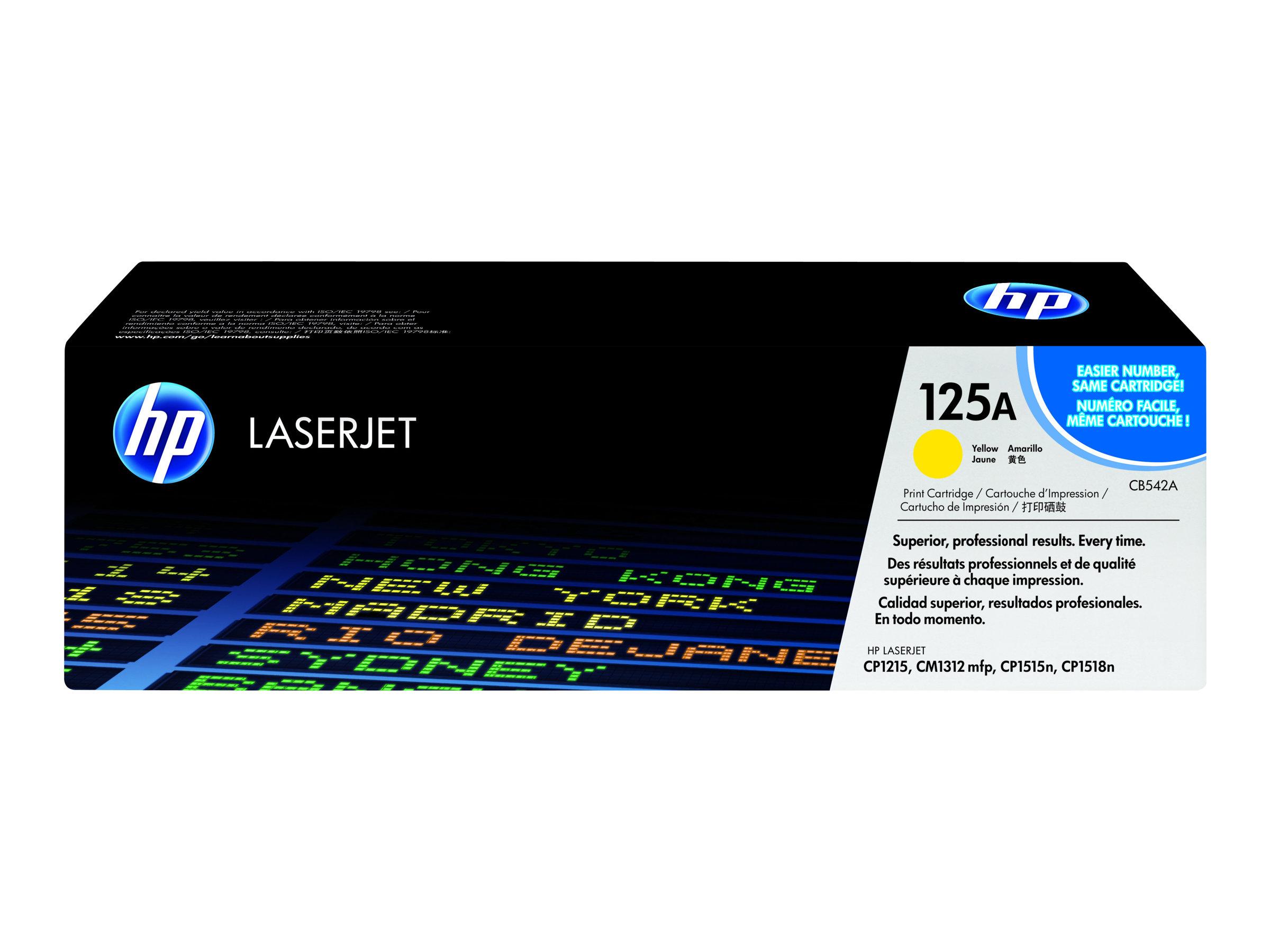 HP 125A - jaune - cartouche laser d'origine