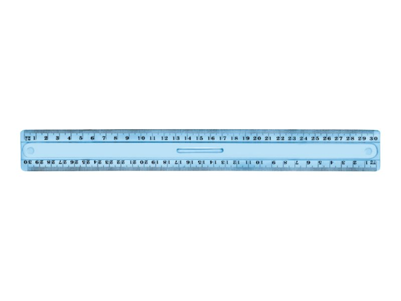 JPC  règle (triple décimêtre)  30 cm  plastique incassable
