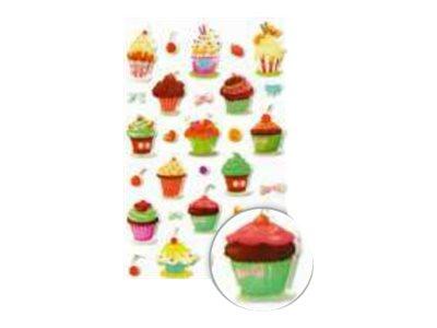 Maildor - 1 feuille gommettes cakes