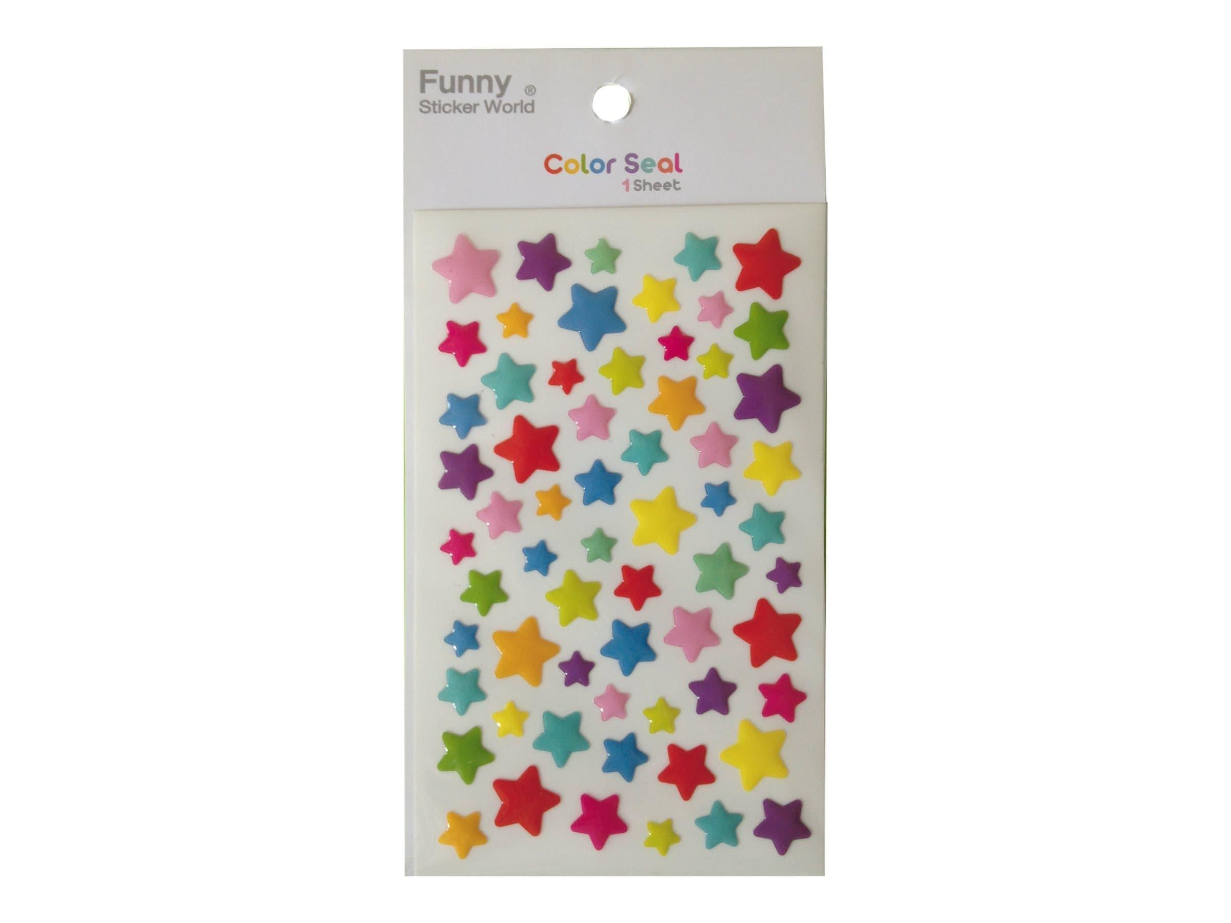 Oberthur Funny Sticker World - Stickers - étoile