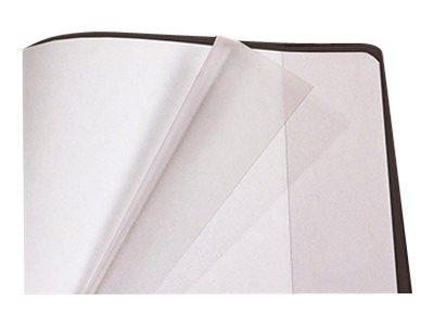 Calligraphe - Protège cahier avec rabats - 17 x 22 cm - cristalux - transparent
