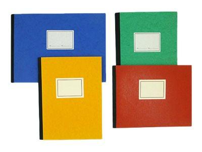 ELVE - Piqûre comptable - 8 colonnes par page - 32 x 14 cm - 100 pages