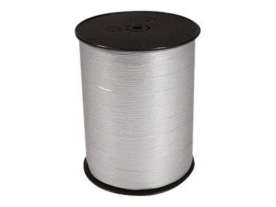 Maildor - Bolduc mat - ruban d'emballage 10 mm x 250 m - argent