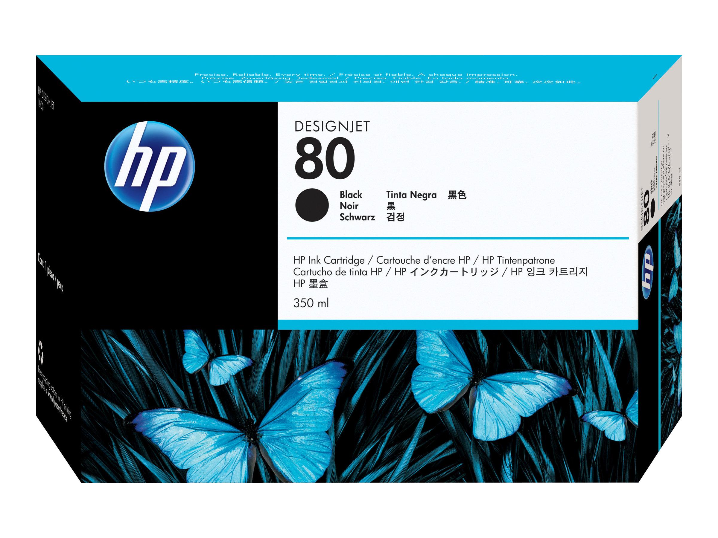 HP 80 - noir - cartouche d'encre originale