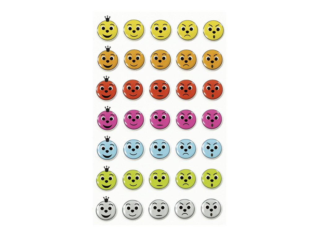 Maildor - 1 feuille gommettes appréciation - coloris assortis