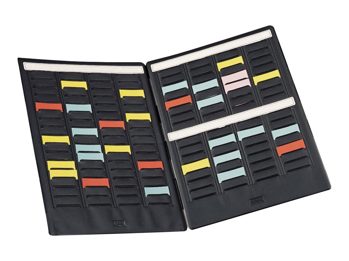 Nobo Mini - Planning portatif à fiches T - 2 volets - 24 x 31 cm