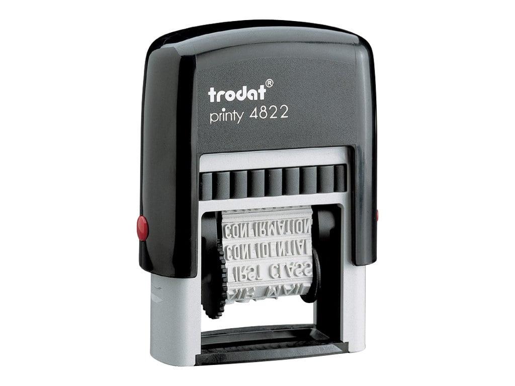 Trodat - Tampon Printy 4822 - 12 formules