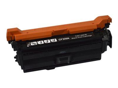 HP 652A - remanufacturé UPrint H.652AB - noir - cartouche laser