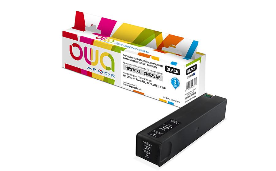 HP 970XL - remanufacturé OWA K20465OW - noir - cartouche d'encre