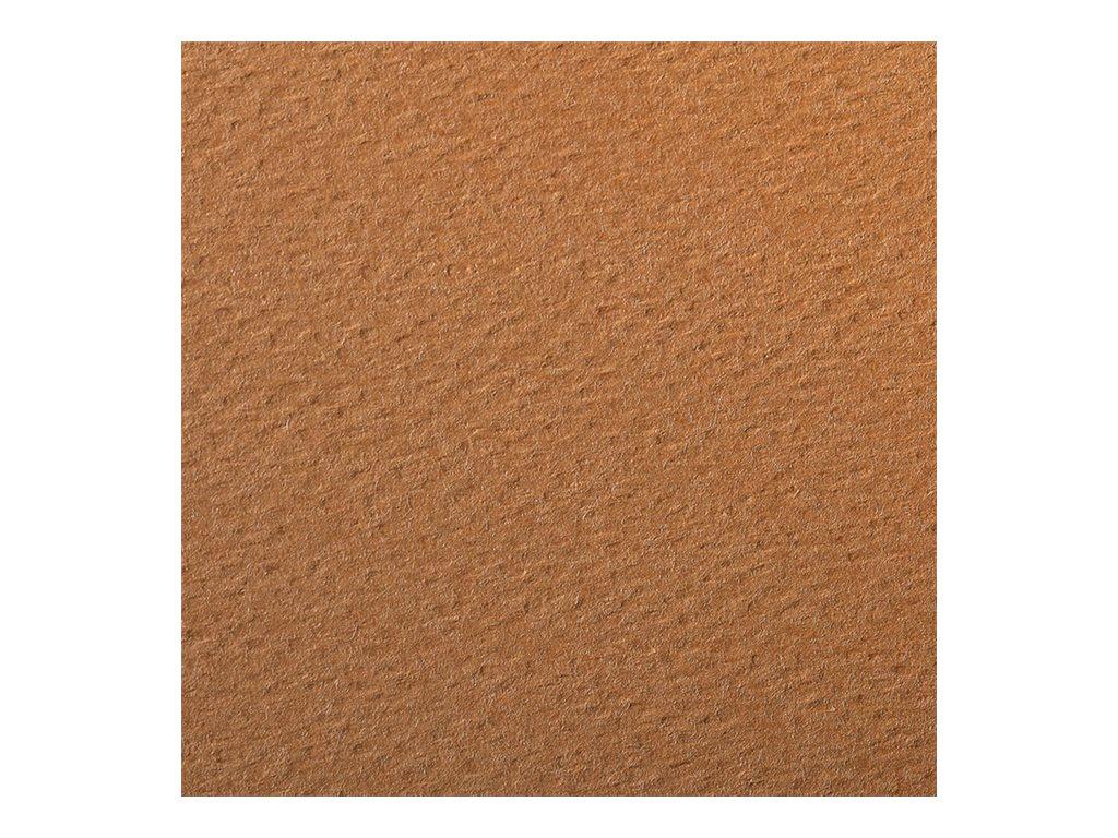 Clairefontaine - Papier dessin couleur à grain - feuille 50 x 65 cm - rouille