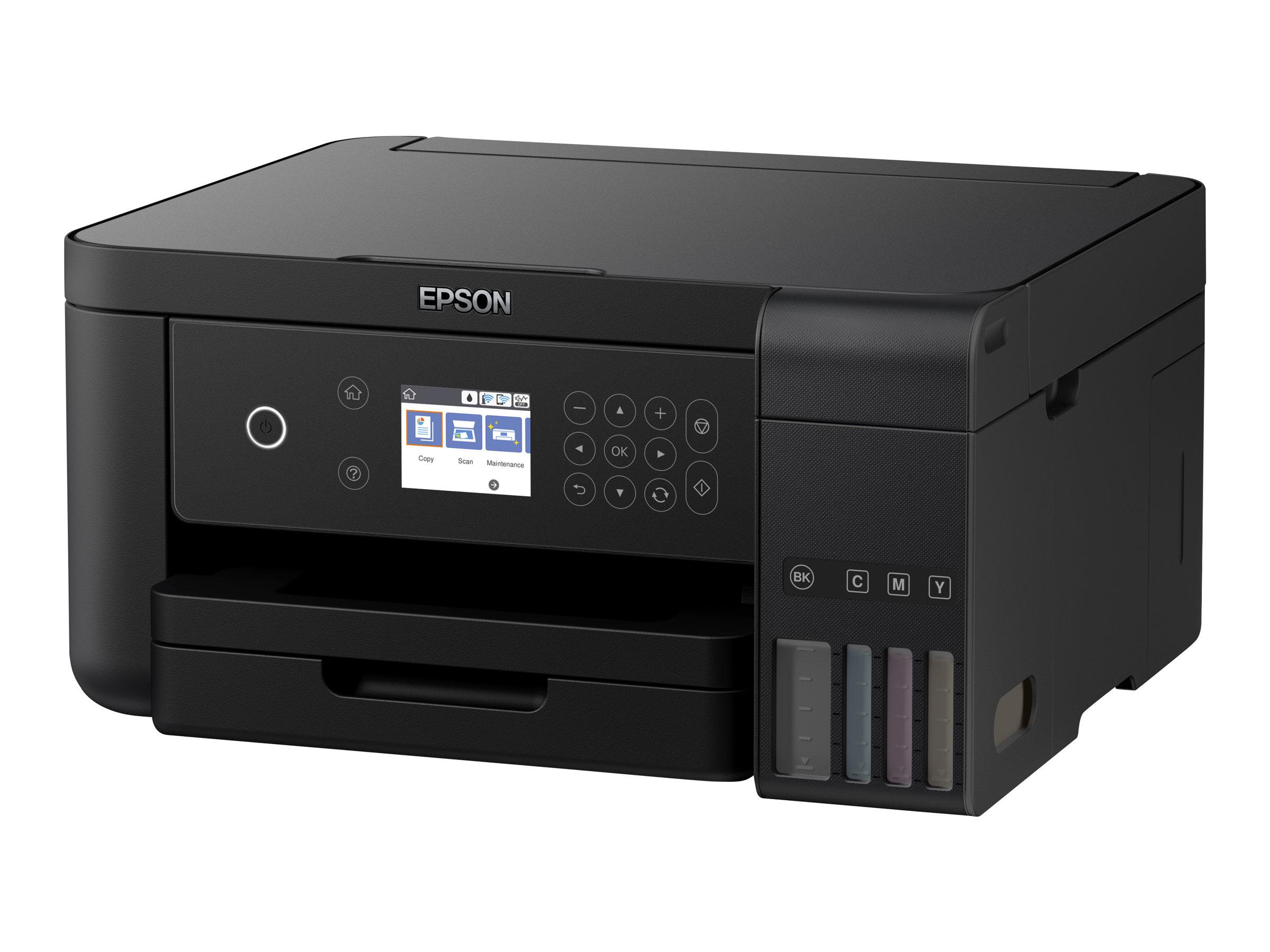 Epson EcoTank ET-3700 - imprimante multifonctions jet d'encre couleur A4 - Wifi, USB - recto-verso