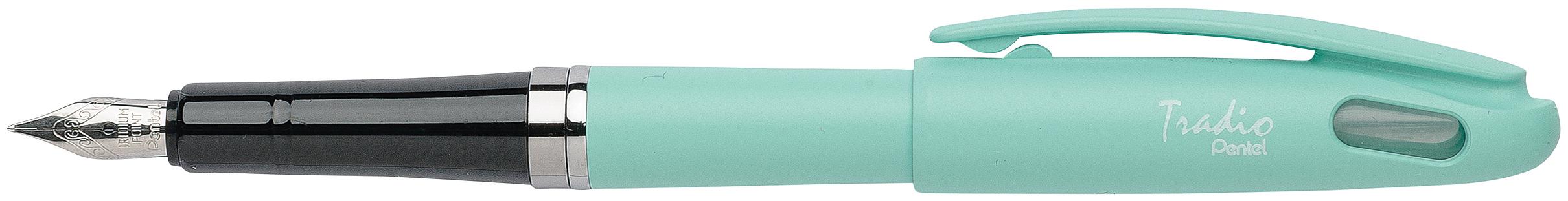 Pentel Tradio Pastel - Stylo plume - corps vert