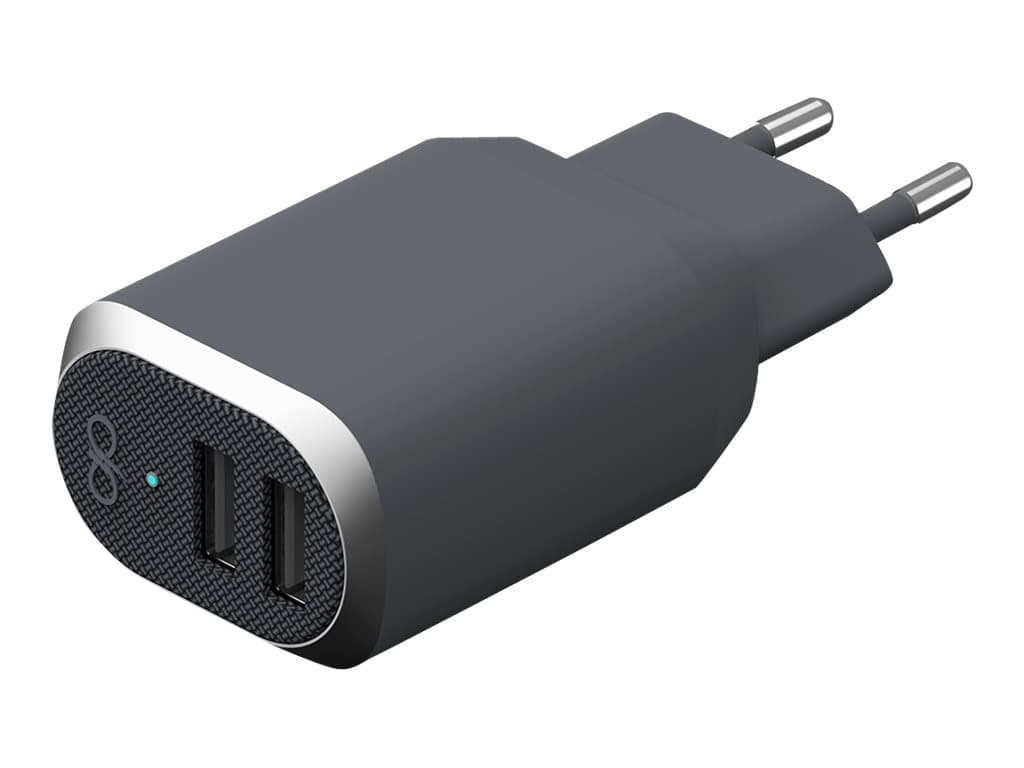 BigBen Force Power - chargeur secteur pour smartphone - 2 USB