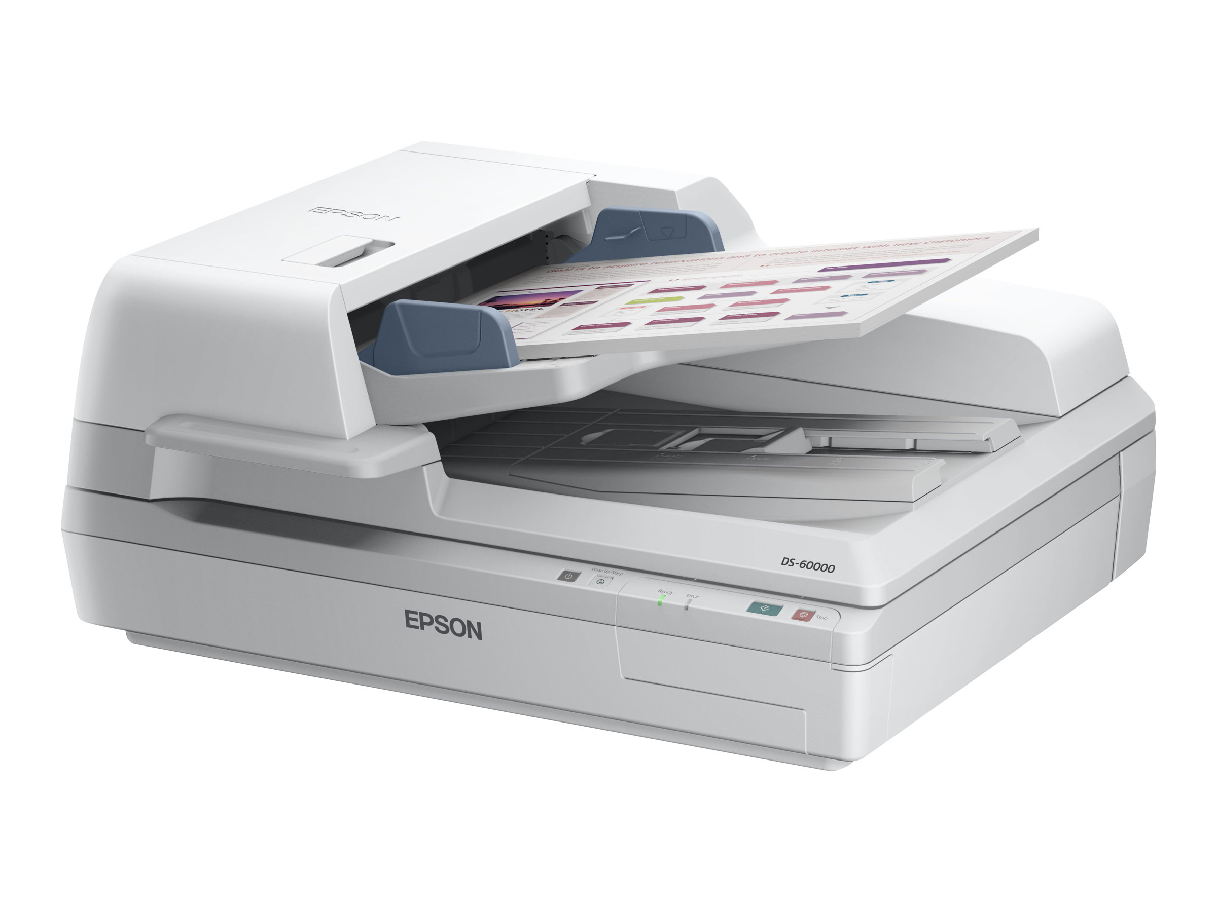 Epson WorkForce DS-60000 - scanner de documents A3 - 600 ppp x 600 ppp - 40ppm