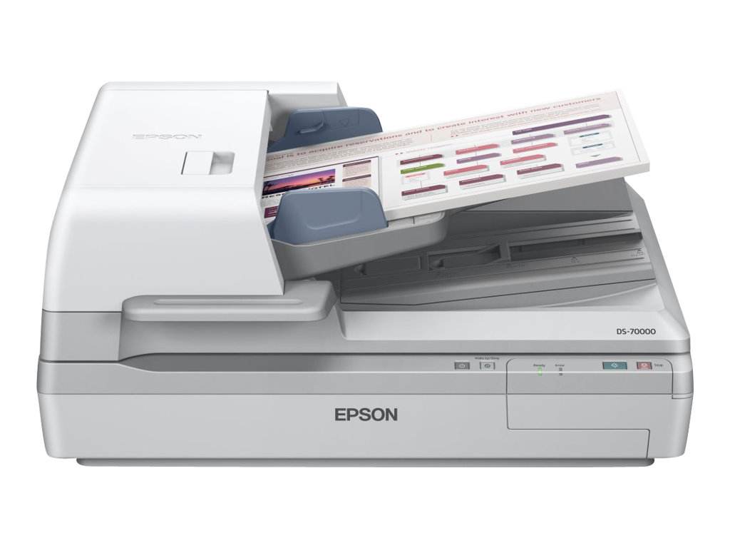Epson WorkForce DS-70000 - scanner de documents A3 - 600 ppp x 600 ppp - 70ppm