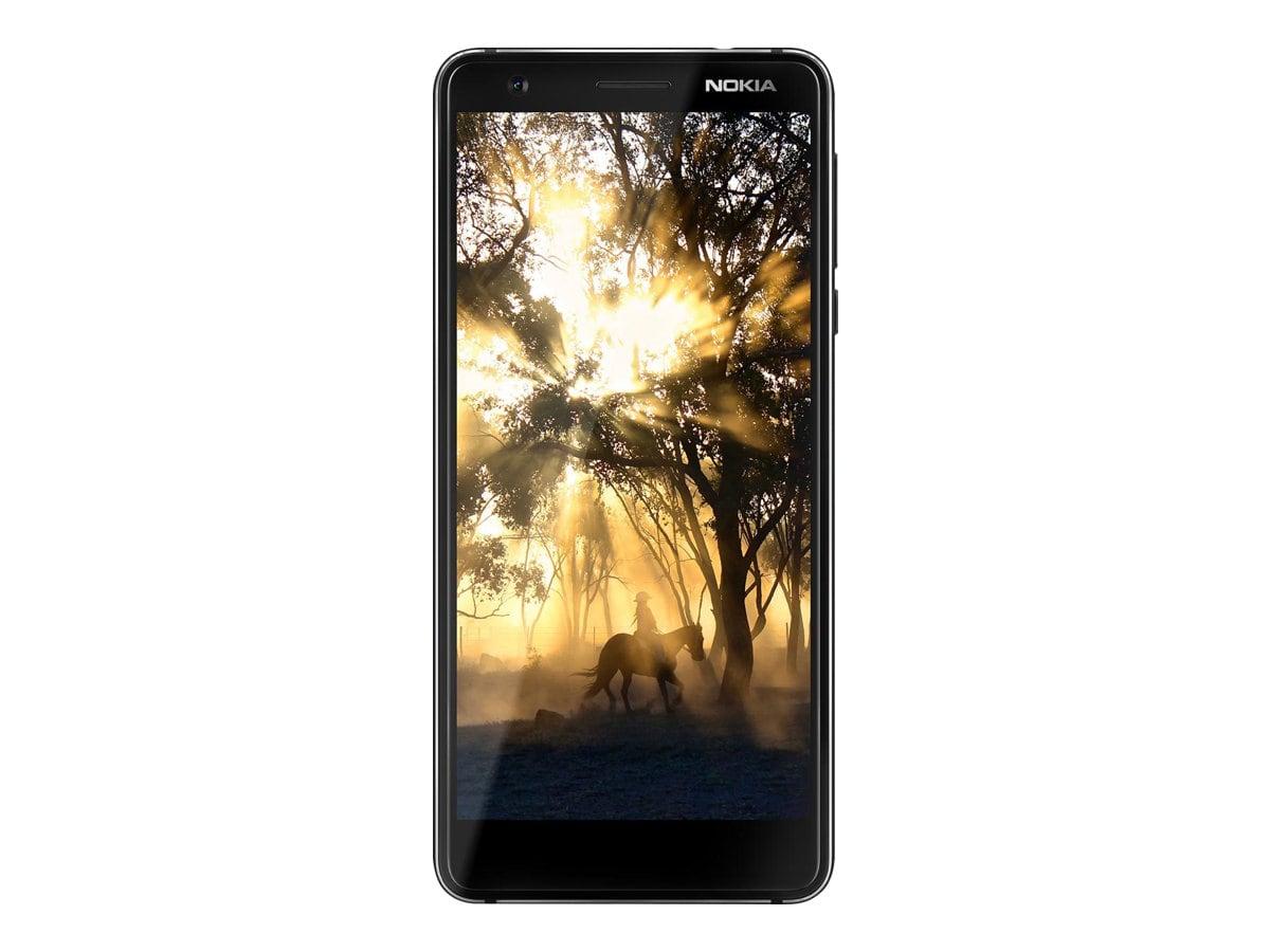 Nokia 3.1 - 16 Go - Smartphone - noir/chrome
