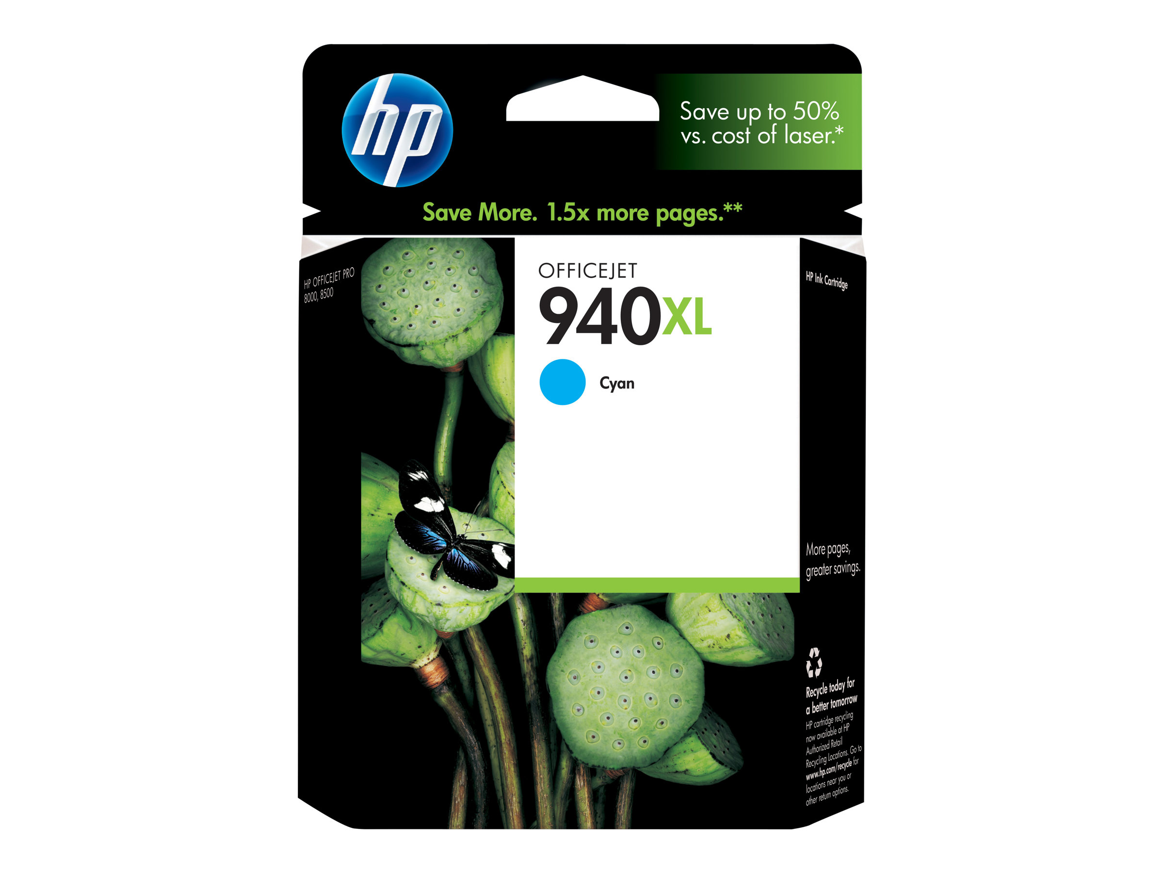 HP 940XL - cyan - cartouche d'encre originale
