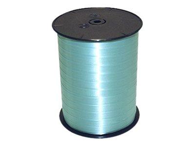 Maildor - Bolduc lisse - ruban d'emballage 7 mm x 500 m - turquoise