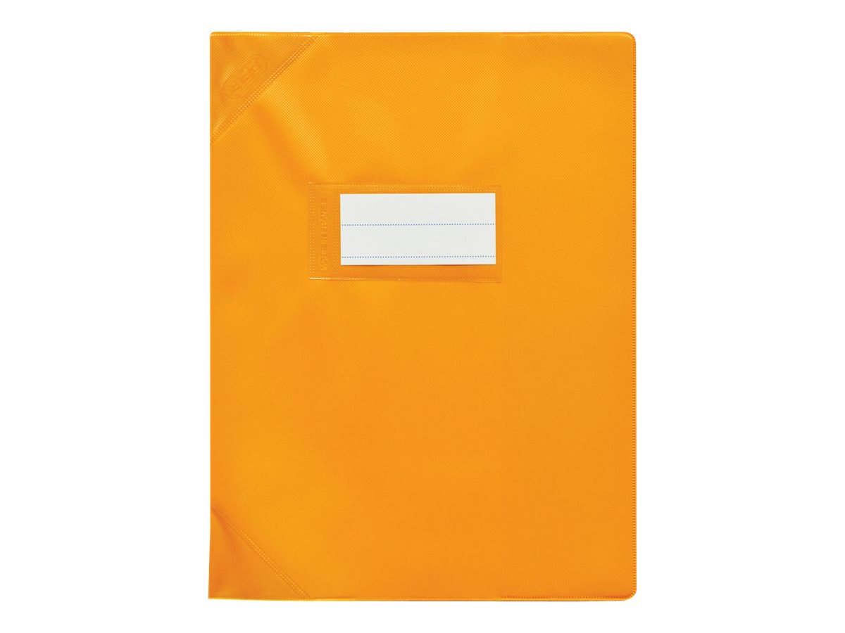 Oxford Strong Line - Protège cahier sans rabat - 17 x 22 cm - orange opaque