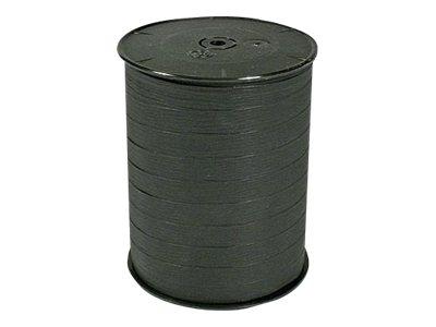 Maildor - Bolduc mat - ruban d'emballage 10 mm x 250 m - noir
