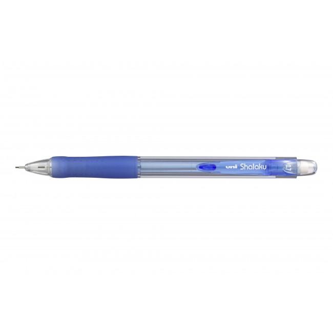 UNI Shalaku - Porte mines - 0,7 mm - bleu clair