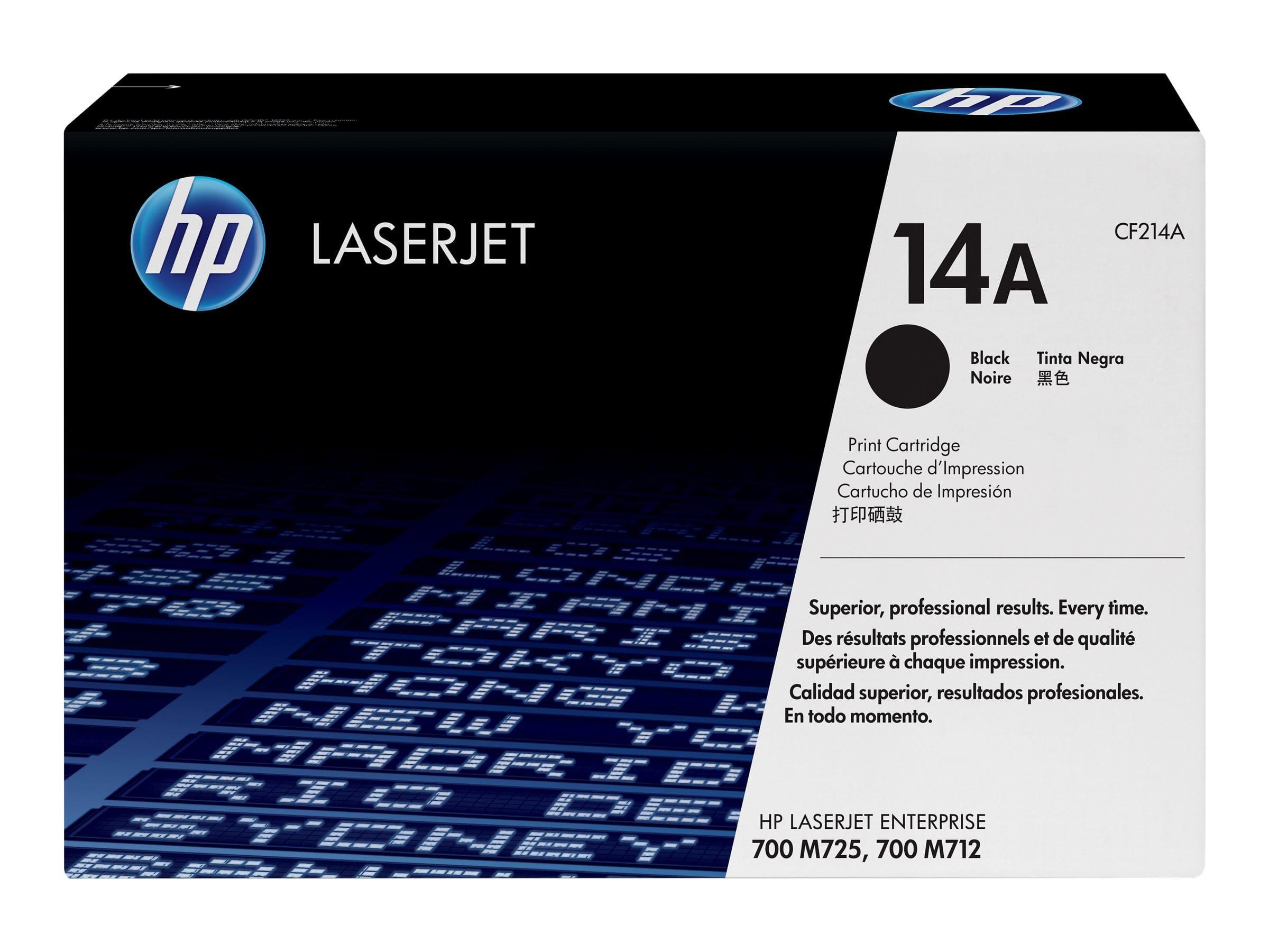 HP 14A - noir - cartouche laser d'origine