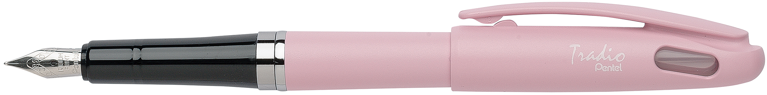 Pentel Tradio Pastel - Stylo plume - corps rose