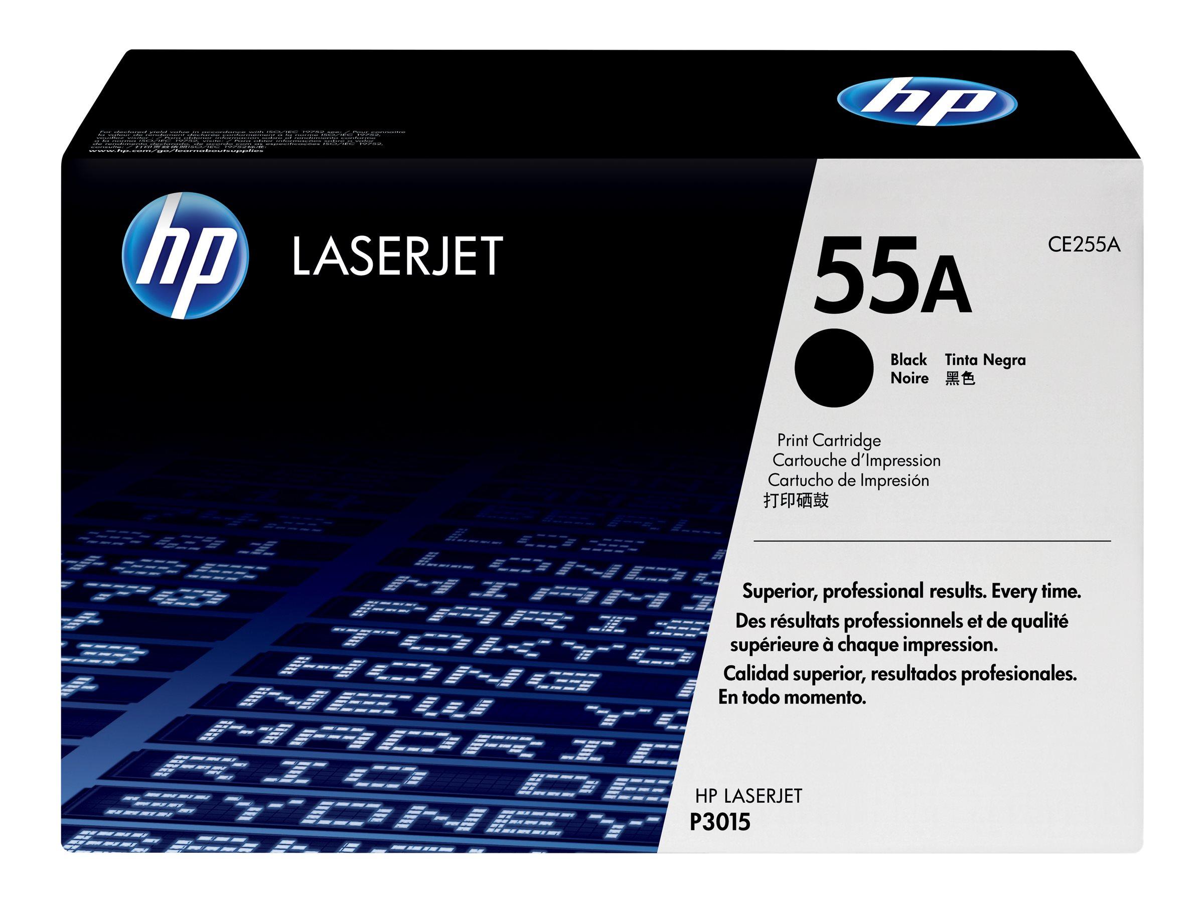 HP 55A - noir - cartouche laser d'origine