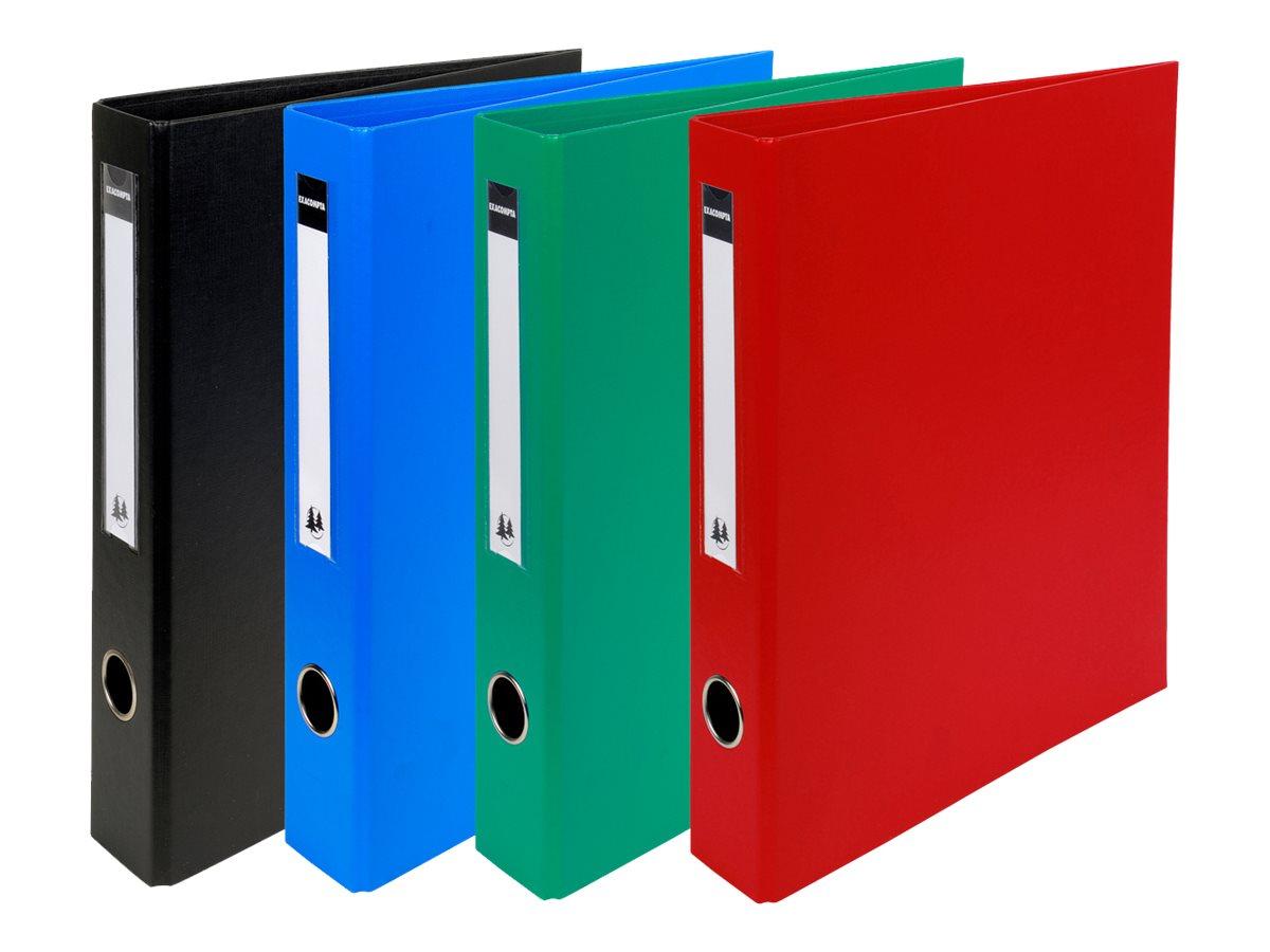 Exacompta - Classeur à anneaux - Dos 60 mm - A4 Maxi - disponible dans différentes couleurs