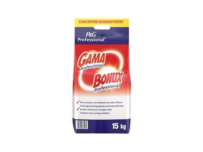 Gama Professional Bonux - Lessive en poudre 15 kg