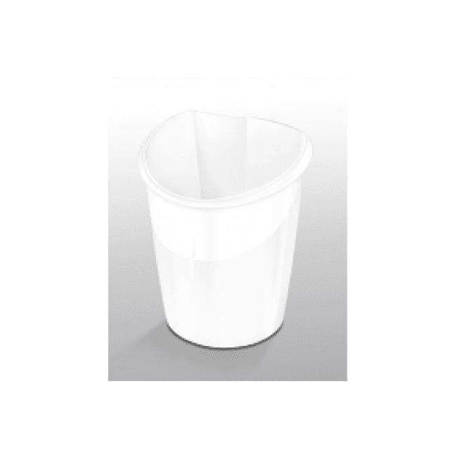 CEP Ellypse - Corbeille à papier 15L - blanc arctique